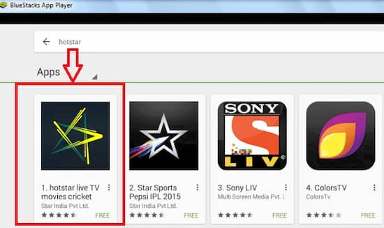 hotstar download for pc