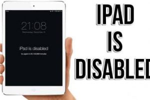 iPad Is Disabled Connect to iTunes