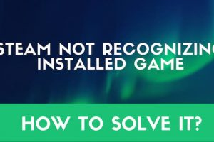 Steam not recognized in installing games