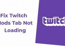 twitch mods not loading