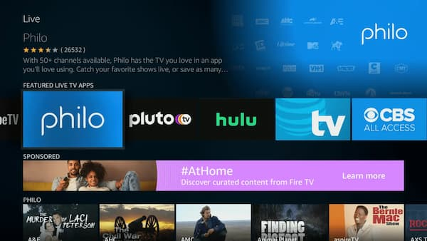 can you watch live tv on firestick