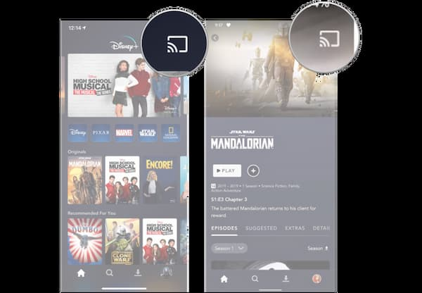 disney plus is not available on this chromecast device