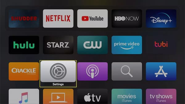 how to turn off apple tv 4