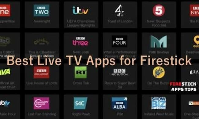 how to watch live tv on firestick
