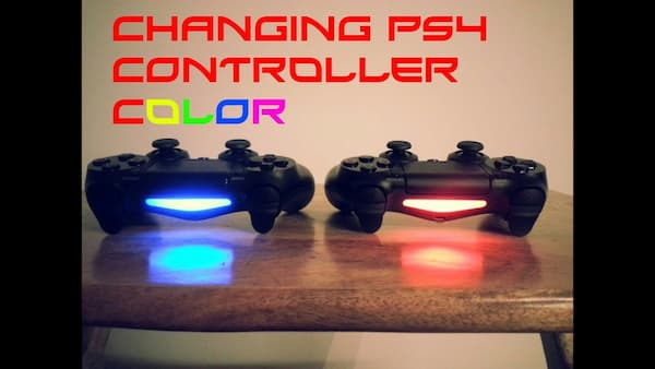 ps4 controller red light when charging