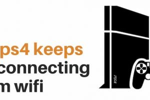 ps4 keeps disconnecting from wifi