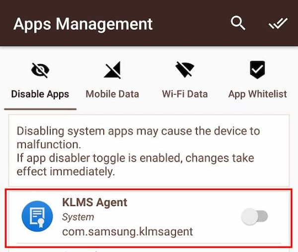 what is klms agent